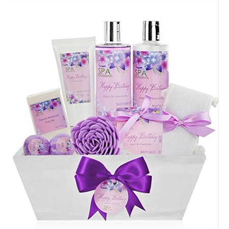 Birthday Gift Basket Spa Kit, Birthday Gifts for Women