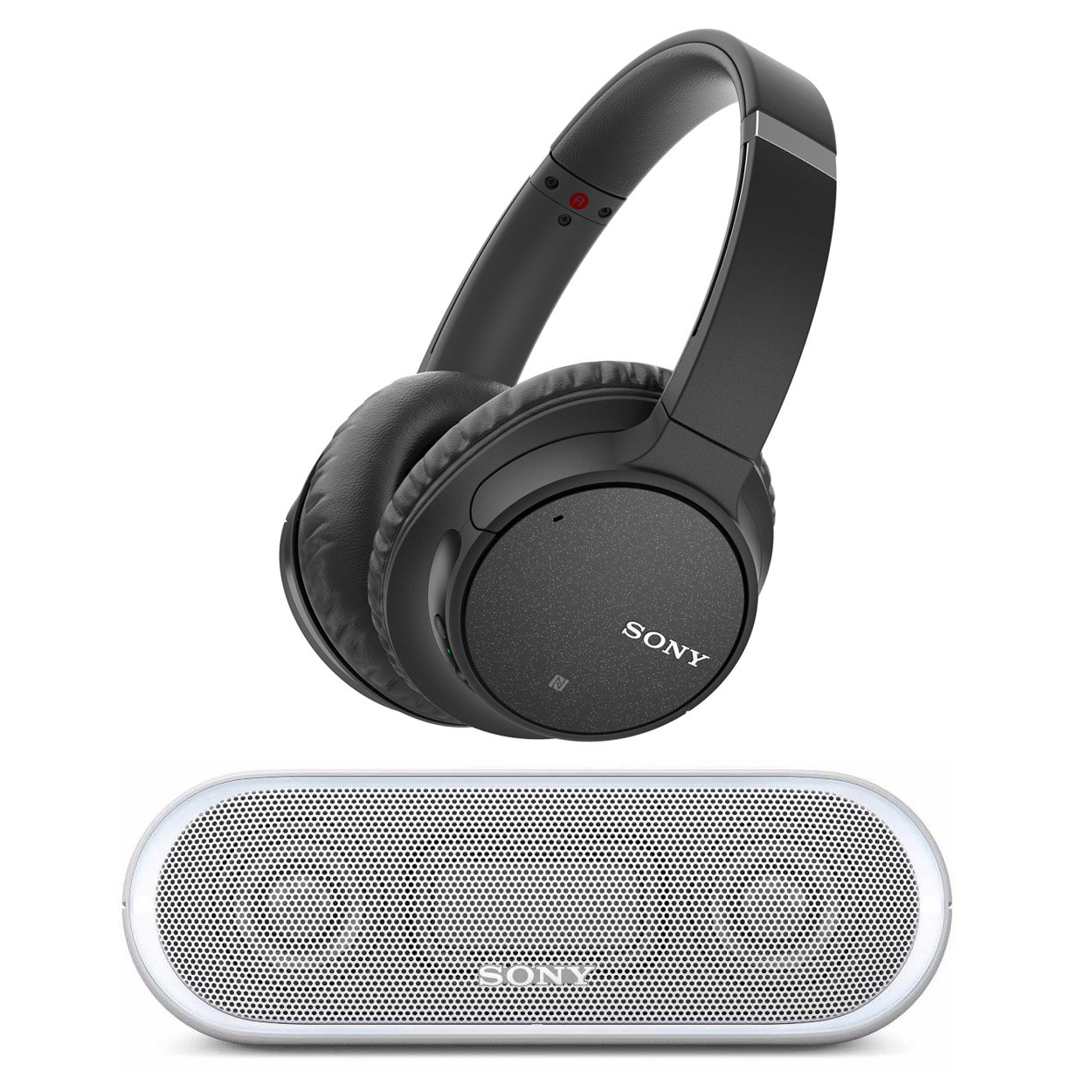 Sony WH-CH700N Noise Canceling Headphones (Black) with Bluetooth Speaker