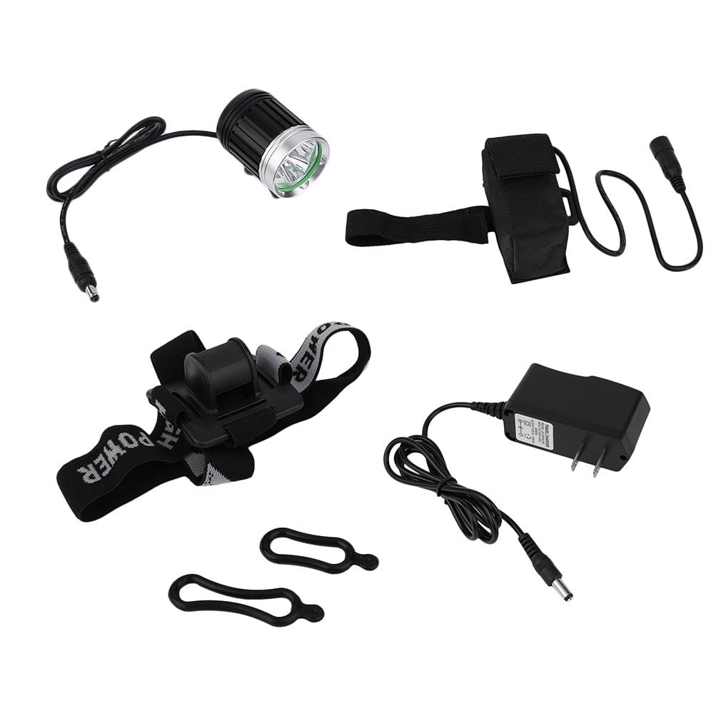 4000 Lumens 3 x XM-L T6 LED 4 Mode Headlight Headlamp Bike Bicycle Light