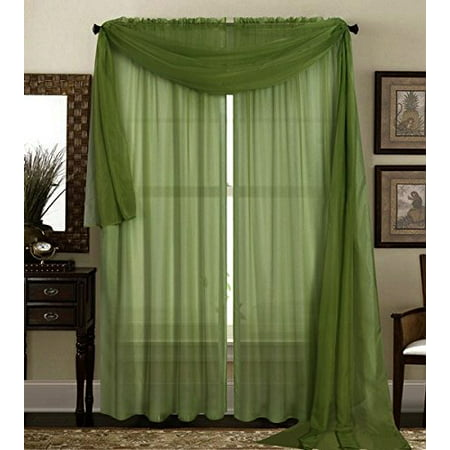 95 Inch Pedestal - Qutain Linen Solid Viole Sheer Curtain Window Panel Drapes 55