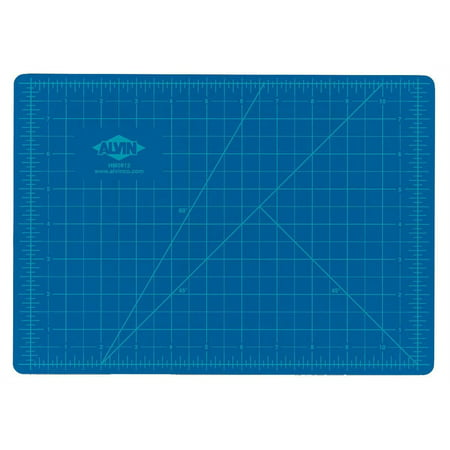(Alvin Blue/Gray Self-Healing Hobby Mat 8 1/2 x 12)