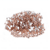 Jingle 1440pc/pack Crystal Non Hotfixed Flatback Rhinestones for Nails Nail Rhinestones Bag Shoe Nail Art Decoration DIY Beads Size ss10 2.7-2.8mm Champagne Lt. Peach Color
