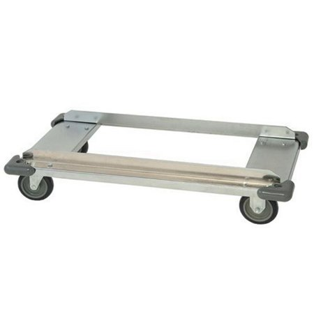 Quantum Storage DB2436S Wire Shelving Dolly Base, 24 x 36 in. - Stainless Steel ()