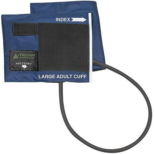 Blue Nylon Cuff with 1-Tube Bladder, Large Adult