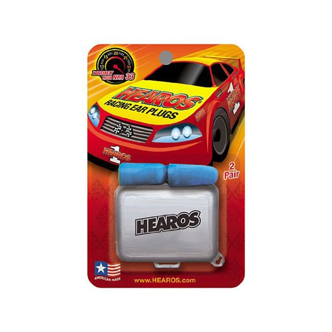 Hearos  Racing Corded Ear Plugs with Free Case (Pack of 3)