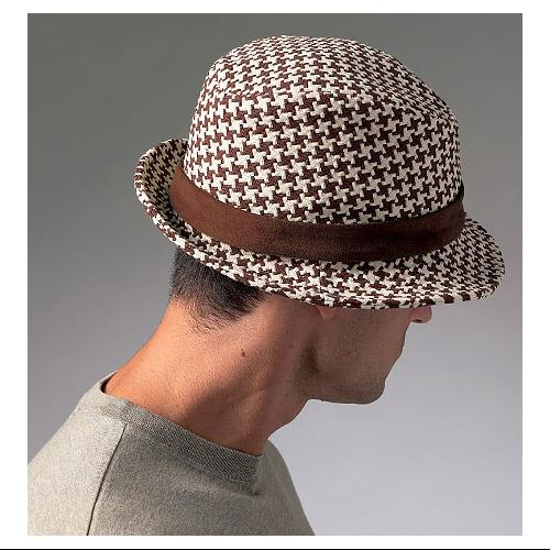 Vogue Men's Hats - All Sizes in One Envelope Pattern
