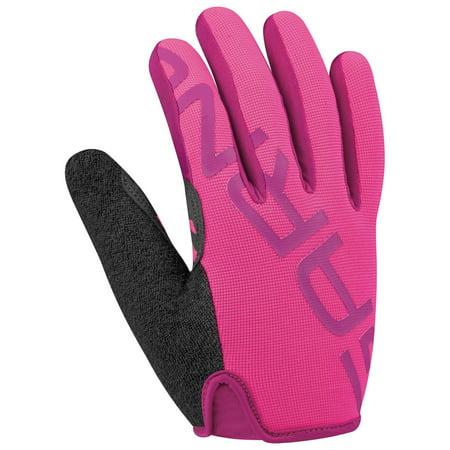 Louis Womens Glove - Louis Garneau Ditch Women's Glove Pink Glow MD