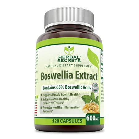 Herbal Secrets Boswellia Serrata Extract 600 Mg 120 -