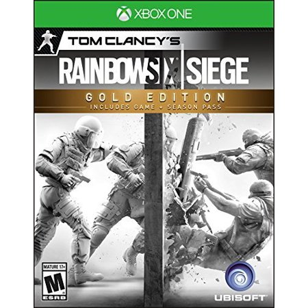 Tom Clancy's Rainbow Six Siege Gold Edition, Ubisoft, Xbox One, 887256009939