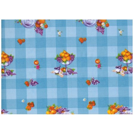 Interior Place 209 Fruit Check Blue Checkered Contact Paper (Checkered Paper)