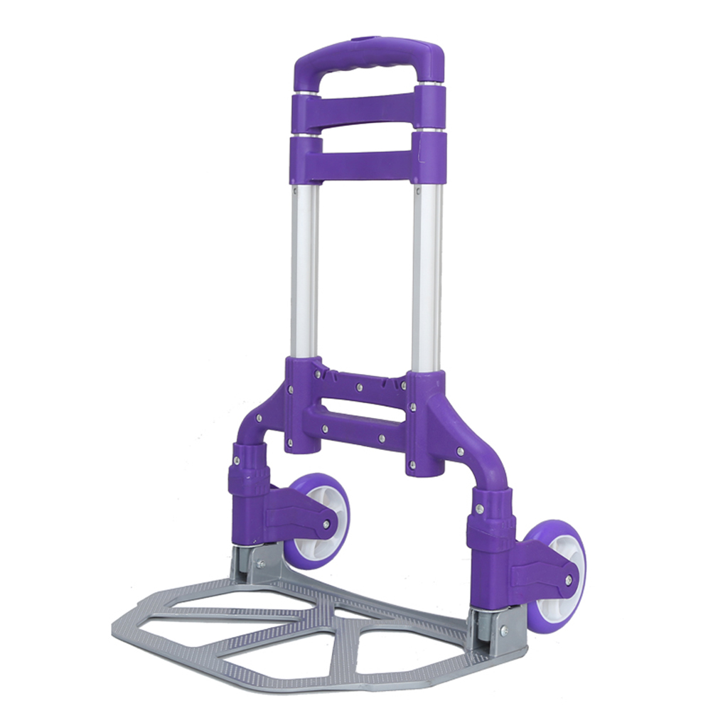 165-Pound Capacity Multi-Position Heavy Duty Folding Hand Truck And Dolly