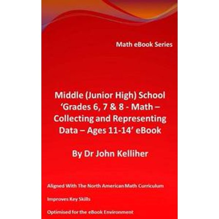 Middle (Junior High) School 'Grades 6, 7 & 8 – Math – Collecting and Representing Data – Ages 11-14' eBook - eBook