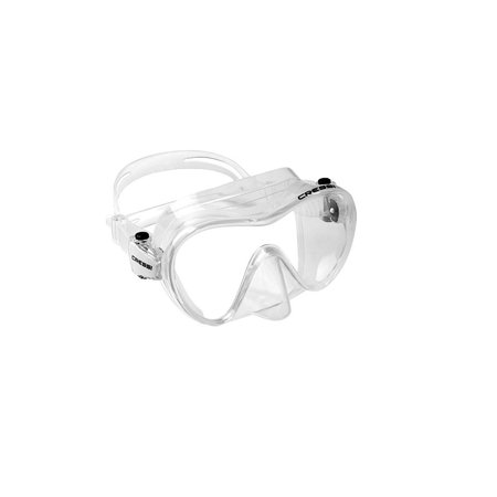 Mask Clear Scuba Dive - Cressi Scuba Snorkeling Frameless Dive Mask, Clear