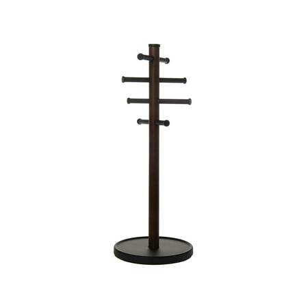 Umbra Slide-It Jewelry Stand Tall Wood Display Tree Holder Organizer Ring Tray Waterford Ring Holder