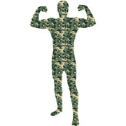 Camouflage Skin Suit Adult Halloween Dress Up / Role Play Costume