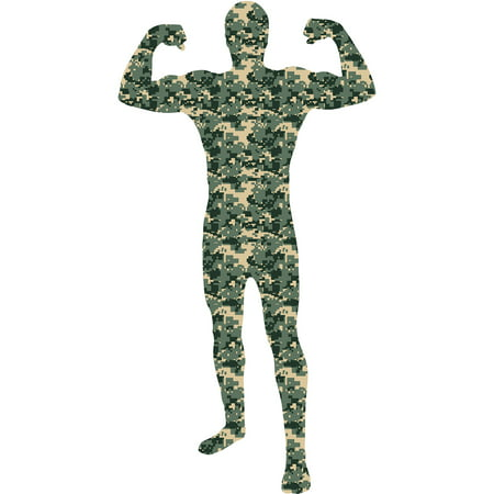 Camouflage Skin Suit Adult Halloween Dress Up / Role Play Costume](Easy Dress Up Ideas For Adults)