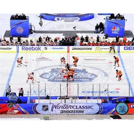 Photofile PFSAAOJ22701 L'ouverture Face-Off LNH 2012 Winter Classic Sport Photos - 10 x 8 - image 1 de 1