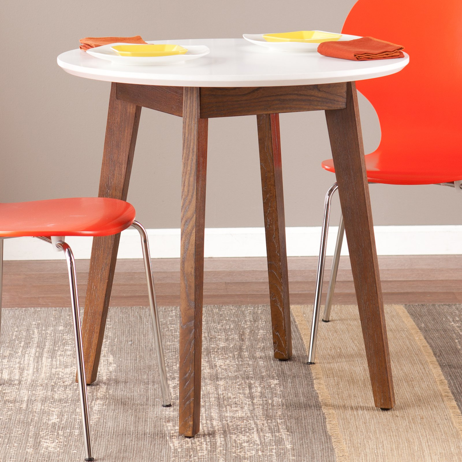 Oden Table Wood/White - Holly & Martin
