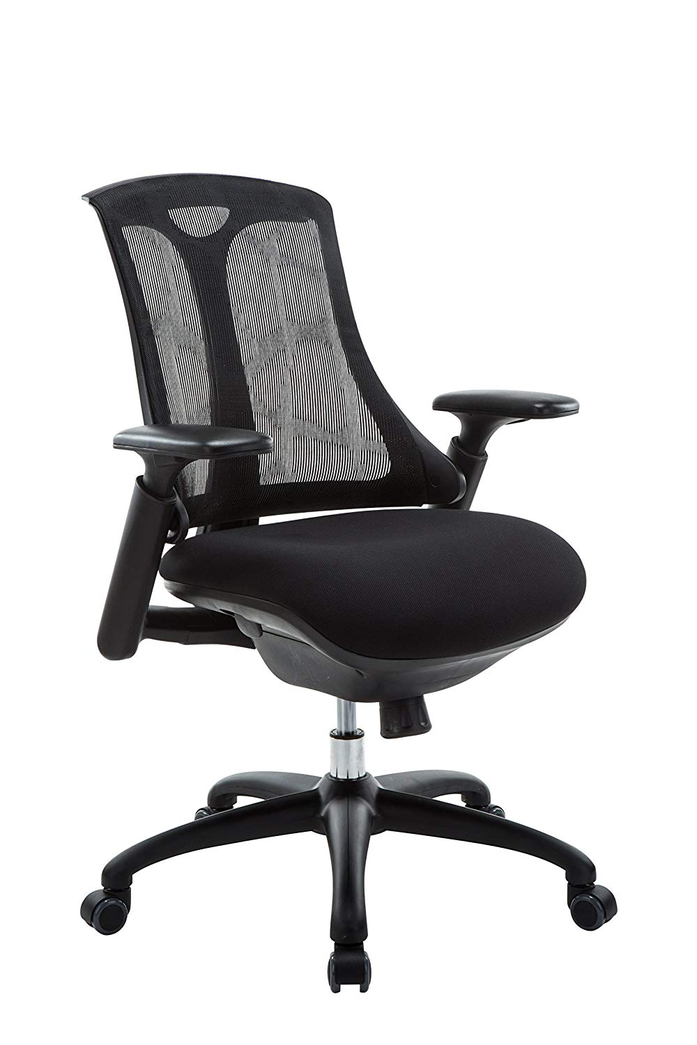 Office Factor Mid Mesh Back Office Chair Comfortable Ergonomic Computer Chair Ventilated Mesh Back Task Chair For Office Home Multi Function