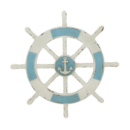 Wooden Ship Wheel Wall Decor](Ship Wheel Decor)
