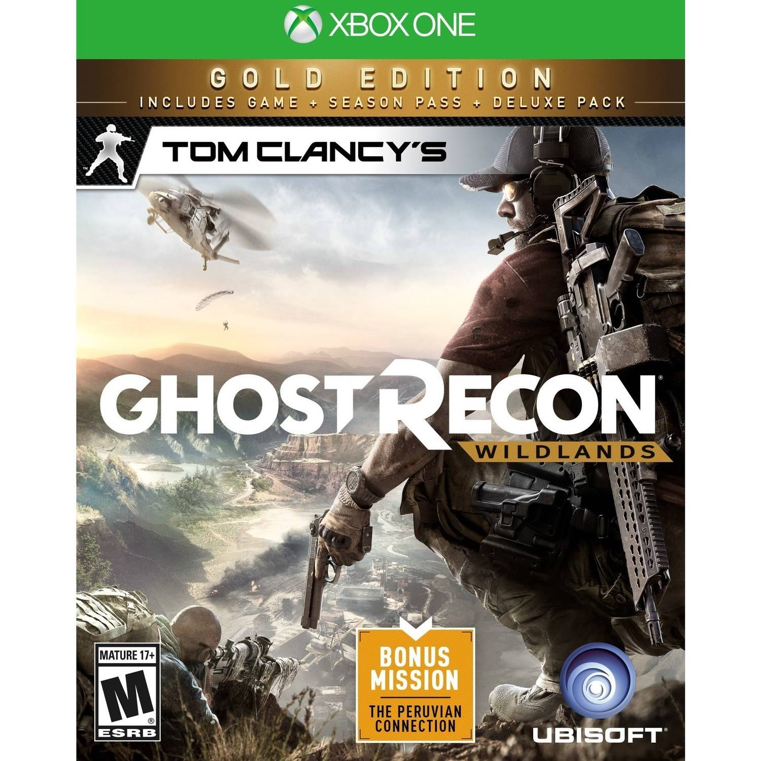 Tom Clancy's Ghost Recon Wildlands Gold Edition (Xbox One) by Ubisoft