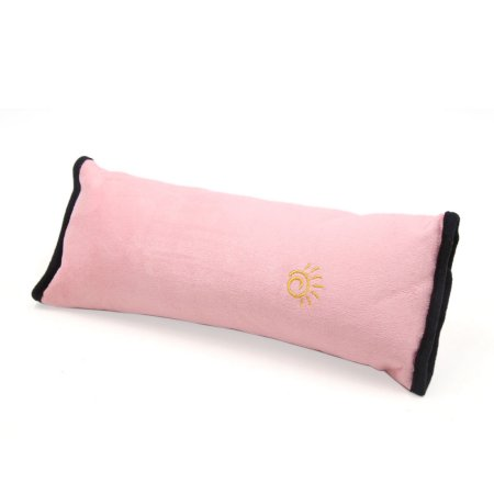 Car Kids Safety Strap Cover Harness Pillow Shoulder Seat Belt Pad Pink Factory