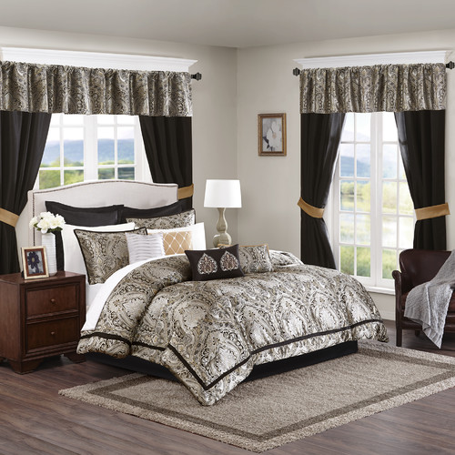 Astoria Grand Polley 24 Piece Comforter Set