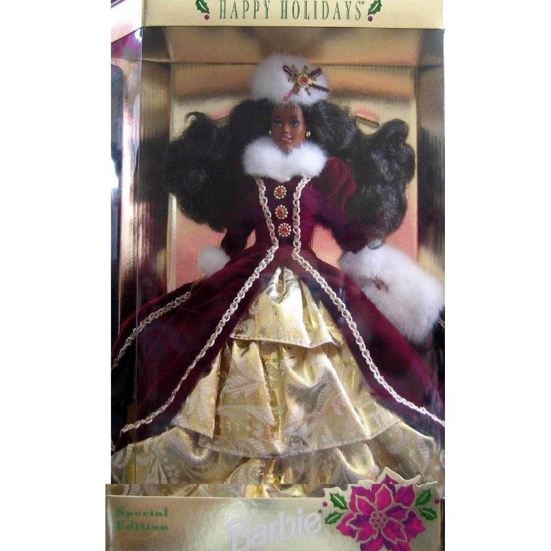 Mattel 1996 AA Happy Holidays Barbie
