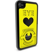Apple iPhone 4 and 4S 3D Printed Custom Phone Case - Despicable Me - Eye Love Carl