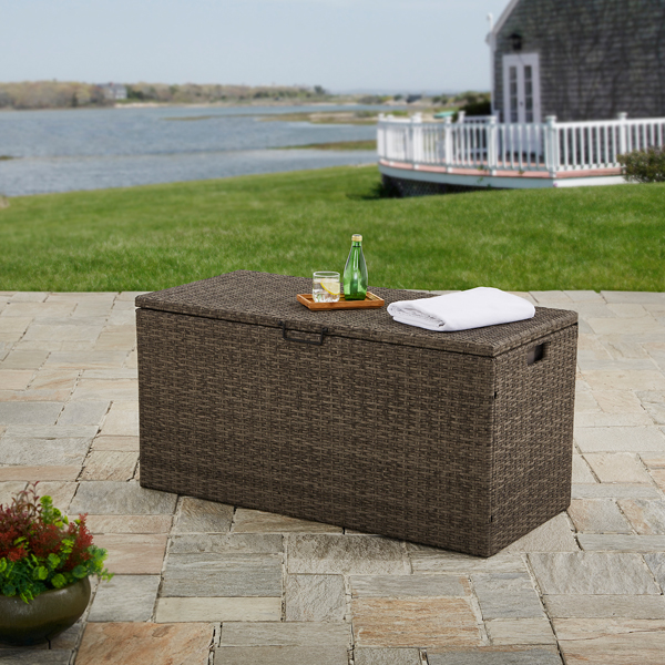 Better Homes and Gardens Mayers Bay Wicker Deck Box by PASCO ENTERPRISES LIMITED