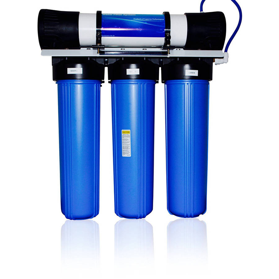 APEX MR-8005 4-Stage Water Filter for Sediment