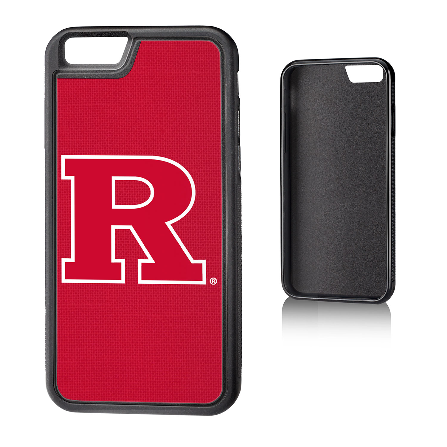 Rutgers Scarlet Knights Solid iPhone 6 Bump Case