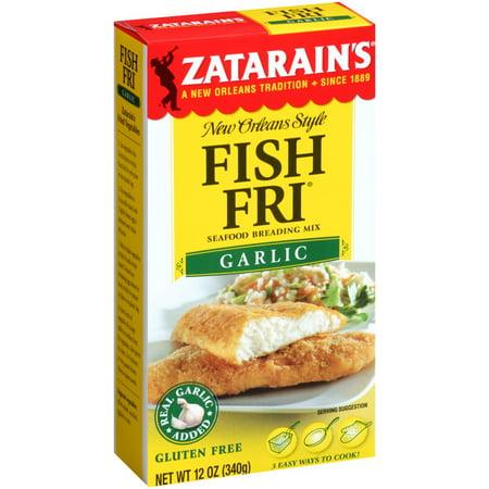 Upc 071429026339 zatarains breading fish fry garlic for Zatarain s fish fri