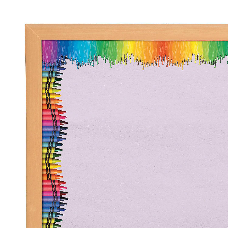 Crayola Bulletin Board Borders Educational 12 Pieces Walmart Com Walmart Com
