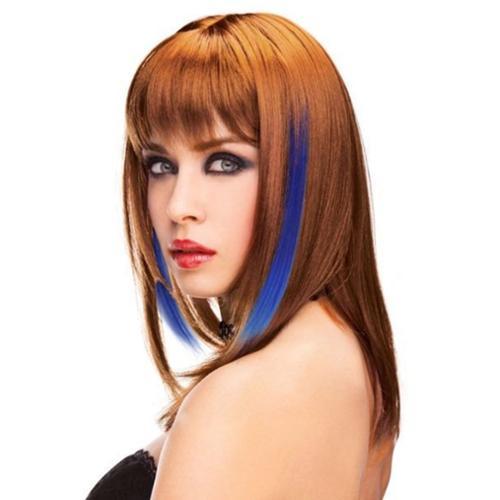 Blue hair extensions walmart