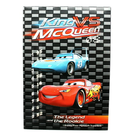 Disney Pixar's Cars King VS McQueen Kids Mini (Mcqueen Vs King)