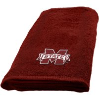 """NCAA Mississippi State Bulldogs 15"""" x 26"""" Applique Hand Towel, 1 Each"""