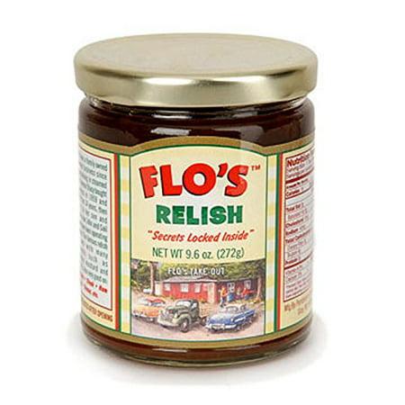Flo's Hot Dog Relish - Original Homemade Secret Recipe - 9.6