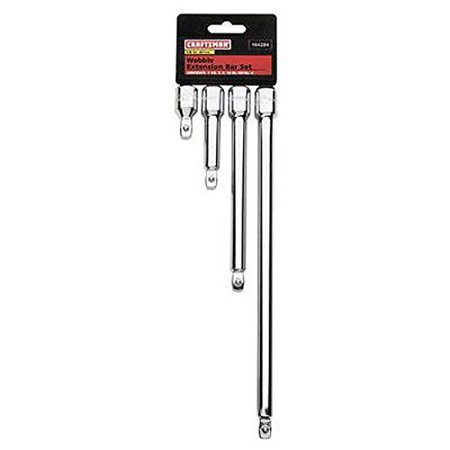 Craftsman 4 pc. 3/8-Inch Drive Wobble Extension Bar Set, # 44284 by -