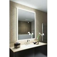 RGB Shaver LED Illuminated Bathroom Mirror with demist, sensor K842ivrgb