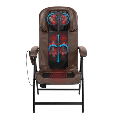 HoMedics Easy Lounge Shiatsu Folding Massage Chair, MCS-1210H