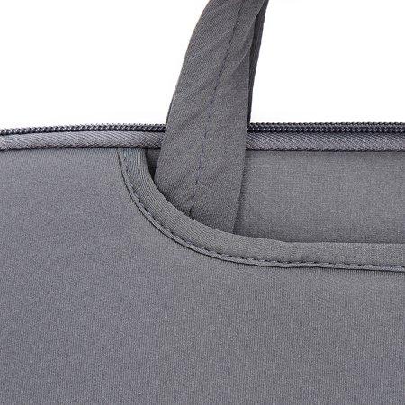 "Soft Sleeve Bag Case Briefcase Handlebag Pouch for MacBook Pro Retina 15-inch 15.6"" Ultrabook Laptop Notebook Portable - image 5 de 7"