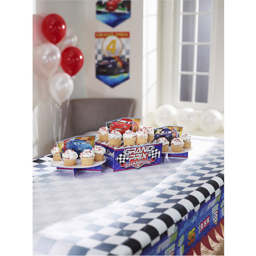 Hallmark Party Disney Cars Cupcake Stand