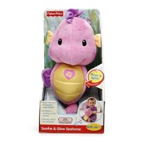Fisher-Price Soothe & Glow Seahorse, Ages 0-36 months, Pink