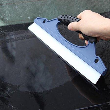Glass Window Wiper Soap Cleaner Squeegee Shower Bathroom Mirror Car Blade