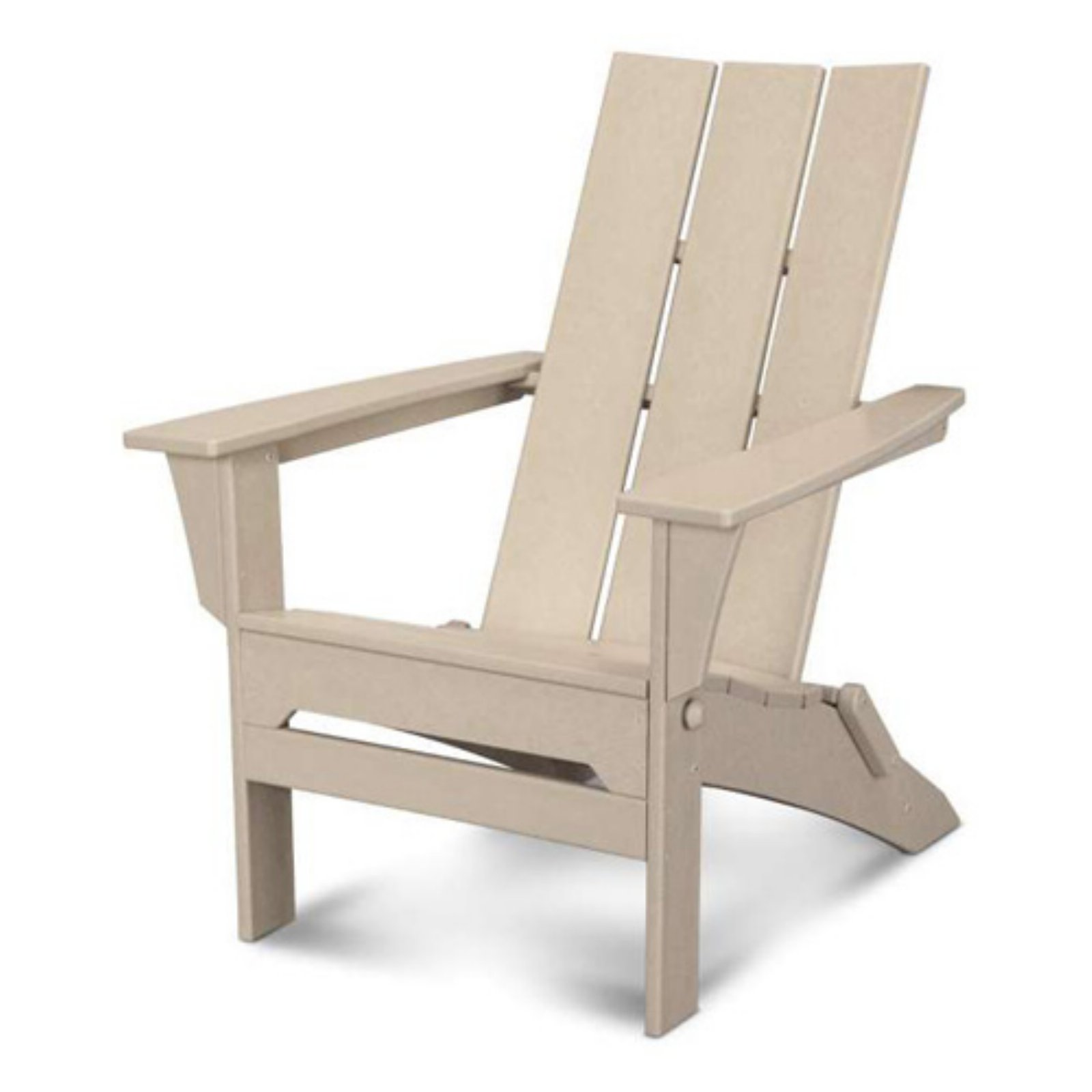 POLYWOOD® Modern Folding Adirondack Chair