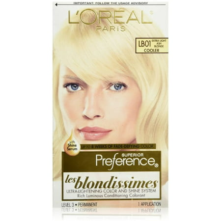 L'Oreal Superior Preference Les Blondissimes - LB01 Extra Light Ash Blonde 1 Each (Pack of