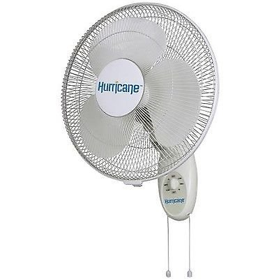 Hurricane Supreme 16-Inch Wall Mount Oscillating Fan