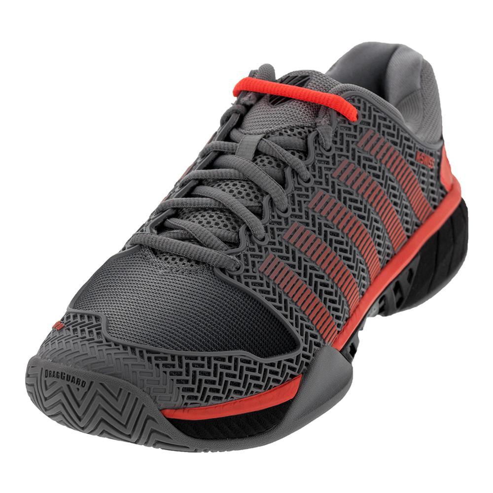 K Swiss Men S Hypercourt Express Tennis Shoes Highrise And Black