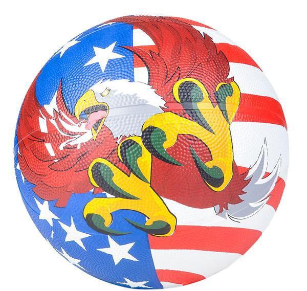 "9.5"" AMERICAN EAGLE REGULATION BASKETBALL, Case of 13"